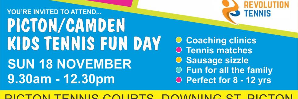 Kid's Fun Day at Picton Tennis