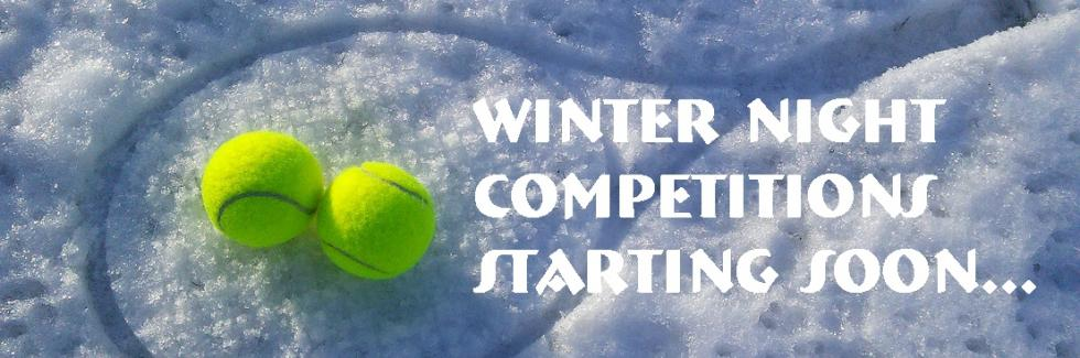 WINTER NIGHT COMPETITIONS WILL COMMENCE IN JUNE