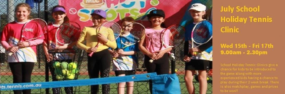 JULY HOLIDAYS TENNIS CLINIC